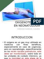 OXIGENOTERAPIA EN NEONATOLOGIA - CCCH.ppt
