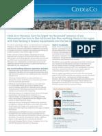 Clyde & Co Tanzania - Finance Brochure