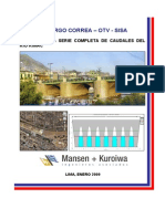 Informe Final Caudales Rio Rimac 2009