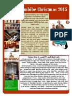 Imbibe Newsletter Christmas 2015