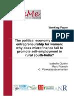 Microfinance and Sustainable Microentrepreneurship Development