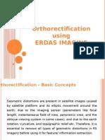 Orthorectification Using Erdas Imagine