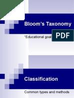 L3 Blooms Taxonomy Ppt