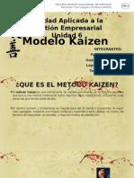 6.3 Modelo Kaizen