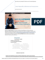 GATE 2015 Topper Interview_ Saurav Gupta AIR 5 in Electronics and Communication Engineering