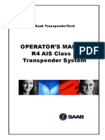 AIS SAAB R4-AIS OPERATION MANUAL