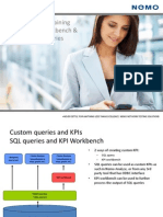 KPI Workbench and Custom SQL Queries Training