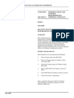 Highway manual - Part 0 Section 2 Quality Assurance