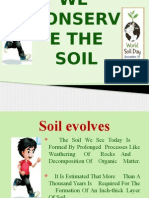 We Conserve Soil