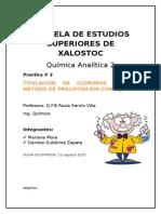 Practica 2 quimica analitica
