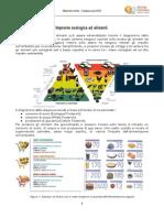 Impronta ecologica e alimenti