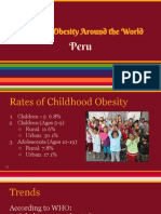 childhood obesity- peru