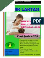 Poster Klinik Laktasi 2
