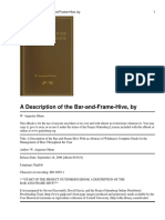 Bar and Frame Hive