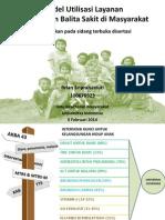 Model Utilisasi Layanan Penanganan Balita Sakit di Masyarakat