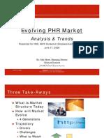 Evolving PHR Market 20080617