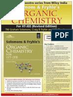 Solomons Frsolomons-fryhlesyhles Organic Chemistry for Iit Jee