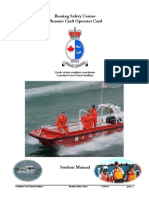 Boating Safety Course Pleasure Craft Operator Card