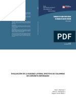 Evaluacion de La Rigidez Lateral Efeectiva en Columnas