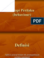Terapi Perilaku (Behaviour)