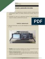 Osciloscopio y Generador de Ondas