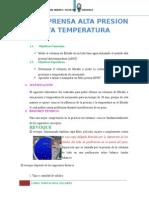 Filtro Prensa Alta Presion Alta Temperatura