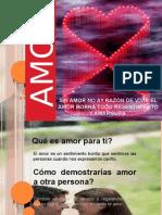 Diapositiva El Amor