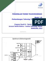 Modul 1 Perkembangan Teknologi Telekomunikasi