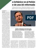 151111 La Verdad CG- El Gobierno Británico Ve Al Peñón Como Parte de Una UE Reformada p.8