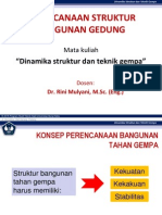 Dinstruk & Gempa 10 (Perencanaan Struktur Bangunan)