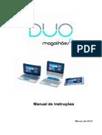 Magalhães DUO - Manual de Instruções PT
