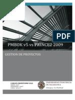 PMBOK vs PRINCE2 2009 - Estudio Comparativo
