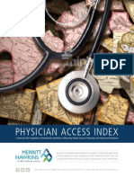 Merritt Hawkins Physician Access Index