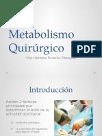 metabolismo quirúrgico