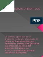 SISTEMAS OPERATIVOS PRESENTACION