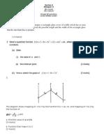 Add Math p2 Trial