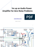 How to Wire Up a Power Amplifier