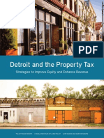 """Detroit and the Property Tax"