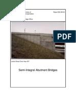 Cnpy - Semi Integral AbutmentBridges