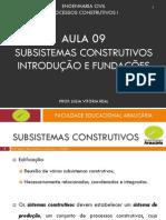 Aula 09 - Subsistemas Construtivos