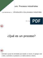 Conferencia 1. Introducción a Los Procesos Industriales