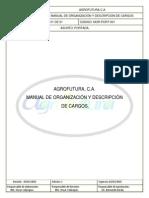 Manual de Organización AGROFUTURA CA