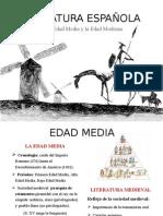 LITERATURA A LO LARGO DE LA HISTORIA