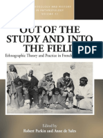 (Methodology and History in Anthropology) Robert Parkin and Anne de Sales (Editors)-Out of the Study and Into the Field_ Ethnographic Theory and Practice in French Anthropology (Methodology and Histor