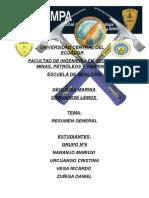 Geologia Marina Resumen General