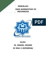 MAKALAH AHMADIYAH