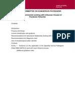 HSG; Advisory Committee on Dangerous Pathogens