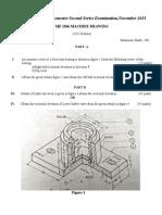 Machine Drawing PDF