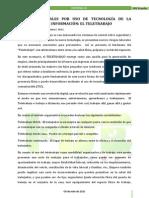 #2 Editorial Riesgos Laborales Por Uso de Tecnología de La Comunicación e Información El Teletrabajo