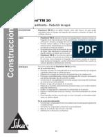 Co-ht_Plastiment TM 20